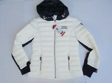 Tommy Hilfiger Ladies Packable Jacket Color Whites Size Medium