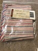 Longaberger Small Canister Basket Liner - Market Stripe