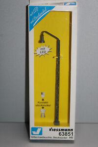 Viessmann 63851 LED Gittermastleuchte, Stecksockel Spur H0 OVP