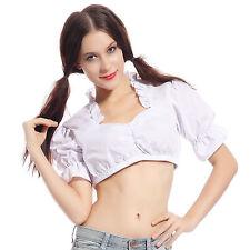 Markenlose maschinenwäschegeeignete Damen-Trachtenblusen