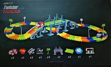 Kuultoy Autorennbahn Leuchtend, Magic Trucks Twister Tracks  220 Teile ab 3Jahre