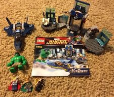 Lego Super Heroes Hulk's Helicarrier Breakout Thor Loki Minifigures 6868 100%
