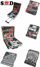 186PC PORTABLE COMPLETE TOOL KIT TROLLEY CASE PROFESSIONAL DIY GARAGE USE CT2730