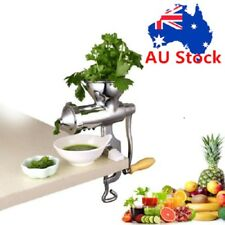 Stainless Steel Wheatgrass Wheat Grass Manual Hand Operated Juicer