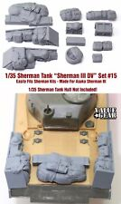 1/35 Scale Sherman Engine Deck Stowage Set #15 Sherman III - Value Gear Resin