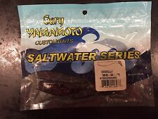 "Gary Yamamoto Custom Baits 5"" Swim Bait Watermelon Black And Red"