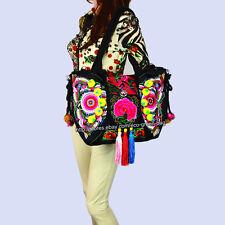 2-usage Vintage Hmong Thai Indian Ethnic hobo hippie bag tote shoulder bag 496