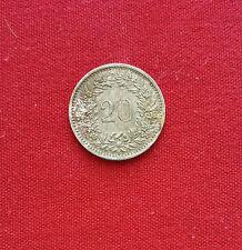 Suiza 20 Rappen 1969