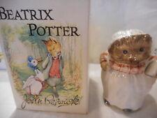 Beatrix Potter Mrs Tiggy Winkle Beswick 1948 w/box free domestic ship/ins 200015