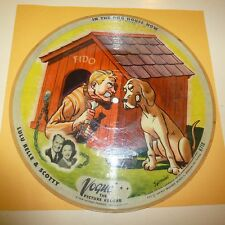 COUNTRY  VOGUE PICTURE 78 RPM RECORD - #718 - LULU BELLE & SCOTTY