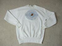 VINTAGE Florida Gators Sweater Adult Large White Blue Crewneck Football Mens 90s