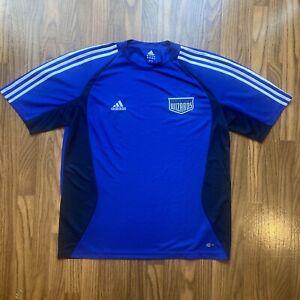 Vintage Kansas City Wizards Soccer Jersey; Mens Medium; Adidas Practice Football