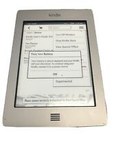 Amazon Kindle Touch (4th Generation) 4GB, Wi-Fi, 6in - Silver