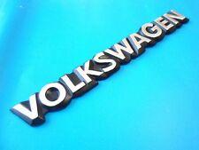 Golf Cabriolet MK1 VW VOLKSWAGEN Rear Boot Badge Emblem Chromed Nos 20cm