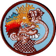 39168 Grateful Dead Ice Cream Kid Man Cartoon Jerry Garcia 60s Sew Iron On Patch