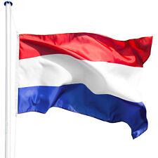 Mât de drapeau aluminium 625 cm drapeau néerlandais jardin drapeaux blason + kit
