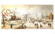 Picture Postcard__Hendrick Avercamp, Scene On The Ice