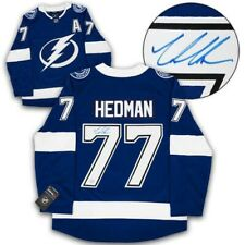 Victor Hedman Autographed Reebok Jersey