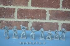 Paragon Civil War Confederate Infantry Set 1 & 2 1/32 54MM Toy Soldiers