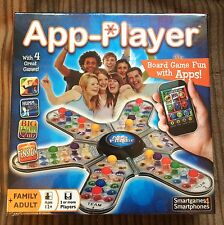 App Player Four In One Phone Board Game NEW SEALED Cheatwell Trivia/Tension/Humm