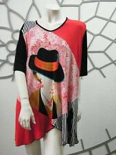 Markenlose Kurzarm Damenblusen, - tops & -shirts in Übergröße
