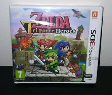 THE LEGEND OF ZELDA TRIFORCE HEROES NINTENDO 3DS PAL ITALIANO  NUOVO SIGILLATO