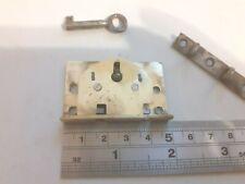 Brass Box-Chest Lock 48mm x 31mm 1 Key (1831) With Keep