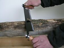 Straight Draw Shave Hand Tool 10in Steel Blade Debark Log Fire Wood Furniture
