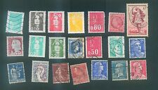 France Mix used stamps #1