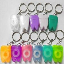 Cleaning Flosser Interdental Brush Dental Floss Keychain Oral Care Hygiene