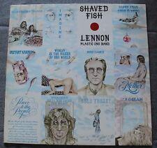 John Lennon, & Plastic Ono band, shaved fish, LP - 33 tours  import
