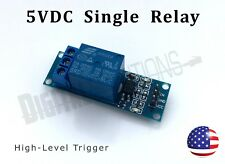 5V Relay Module 1 Channel With Optocoupler - High Level Trigger - Arduino