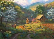 NEW! Cobble Hill Puzzles Country Blessings 1000 piece landscape jigsaw puzzle