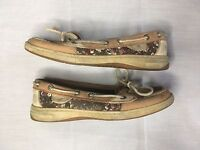 Women's Sperry Top-Sider 9102302 Size 5.5M Multi Color Laced Casual Boat Shoe