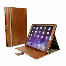 Alston Craig Vintage Genuine Leather Stand Case for iPad Pro 10.5 -brown