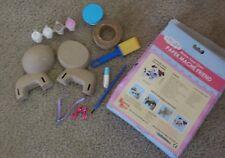 My Studio Girl Papier Mache Dog Kit-OPEN BOX ITEM,INCOMPLETE