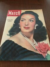 paris Match  37 3 décembre 1 1949 Maria Felix Paris Sacha Guitry