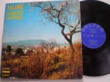 SALOME Sardanes Cantades SPAIN LP DISCOLIBRO /BELTER 1971