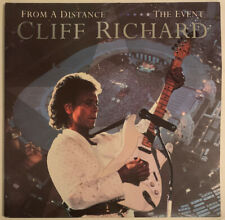 CLIFF RICHARD FROM A DISTANCE THE EVENT 2 LP EMI UK 1990 PRO CLEANED