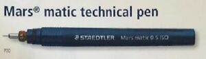 Staedtler Mars matic 700 Technical Pens and 750 Drafting Point Replacement Nibs