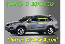 Window Accent Molding Chrome Garnish Trim 4p A914 For KIA Sorento 2010 2011 2012
