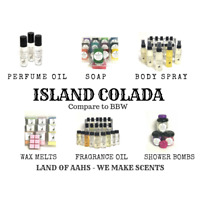 ISLAND COLADA Perfume / Lotion / Soap / Wax Melts / Body Spray BBW Type Scent