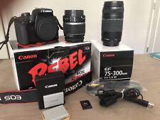 Canon EOS Rebel XS / 1000D 10.1MP Digital SLR Camera - Black (Kit w/ EF-S II...