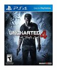 Uncharted 4: A Thief's End (Sony PlayStation 4, 2016) PS4  Brand New Seal