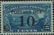 USA Scott J24 Canal Zone Stamp - 10 Cents Postage Due Stamp - Superb Condition