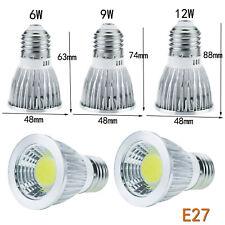 Dimmable E27 E14 GU10 MR16 E12 LED Spotlight 12V 24V 6W 9W 12W Bulb Lamp GL444
