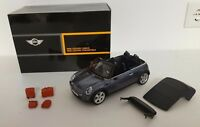 Mini Cooper R52 Convertible Cool Blue Kyosho 1/18 NEW IN BOX by BMW