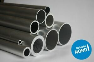 1m Aluminium Rohr AlMgSi0,5 Alurohr Aluprofil Alu Rohre Rundrohr Modellbau Pipe