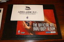 1999 Herald Sun AFL Official Team Photo Album and set of 16 cards