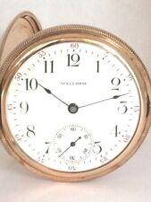Waltham Gold Filled Hunter Case Pocket Watch Circa. 1914,  7 Jewels